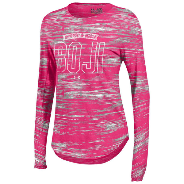 Women's Under Armour U of O Pinkadelic LS