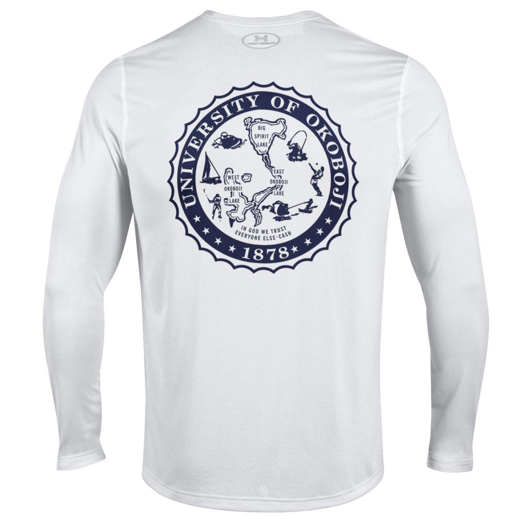 Under Armour White Campus Tee