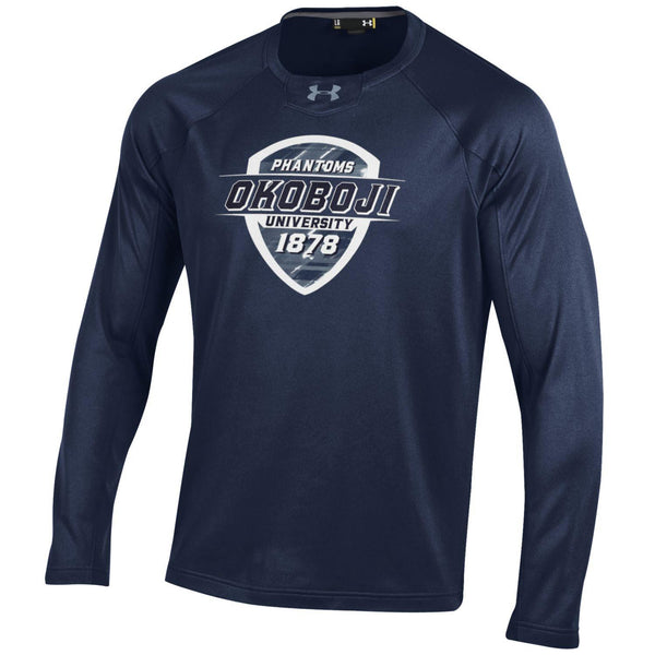 Okoboji Under Armour Performance Midnight Navy Crew
