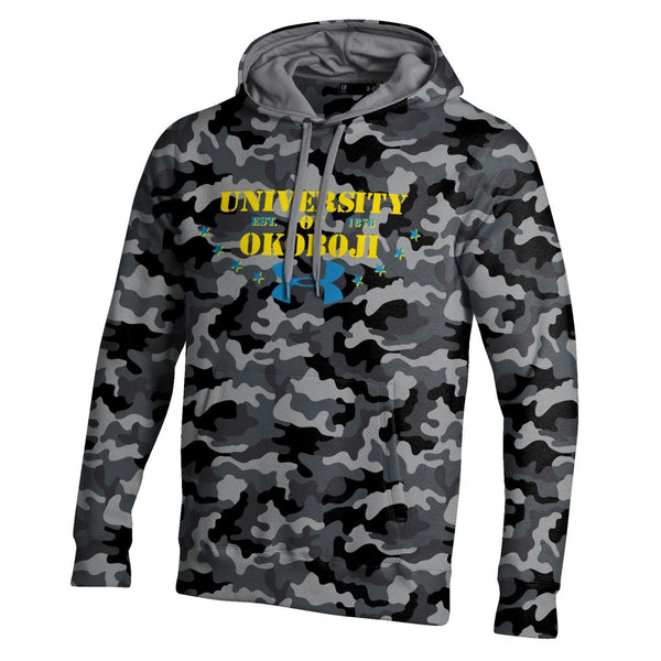 U of O Under Armour Urban Camo Rival Cotton Hood