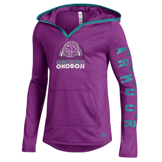 Girls Light Weight Tech Pullover - Strobe