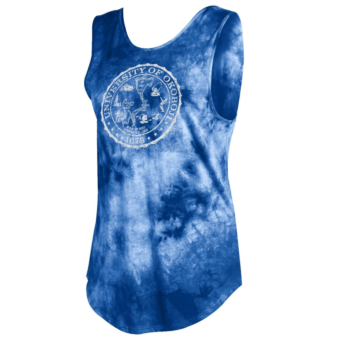 Women's Fusion Tank Limitless - Royal Blue