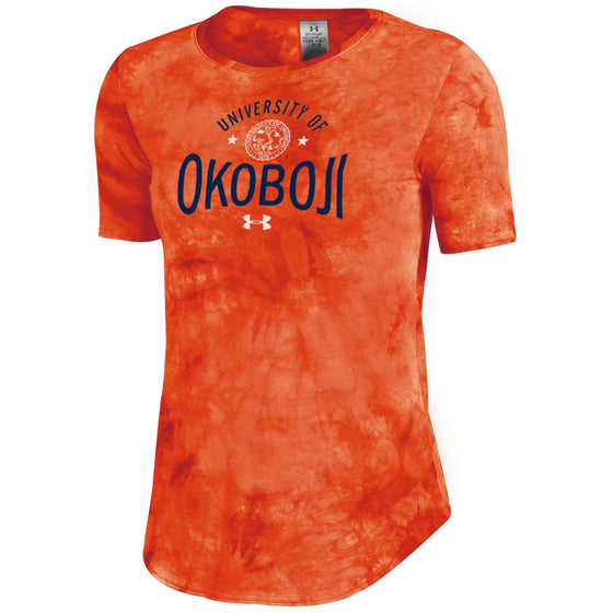 University of Okoboji Women's Fusion Shirzee - Orange