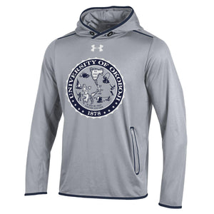 University of Okoboji Streamline Hood - Grey Heather/Navy
