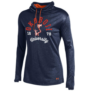 Ladies Under Armour Grainy Tech Cowl Neck