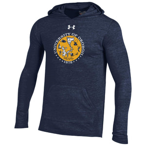 78 Classic Light Weight Triblend Hood - Navy/Gold