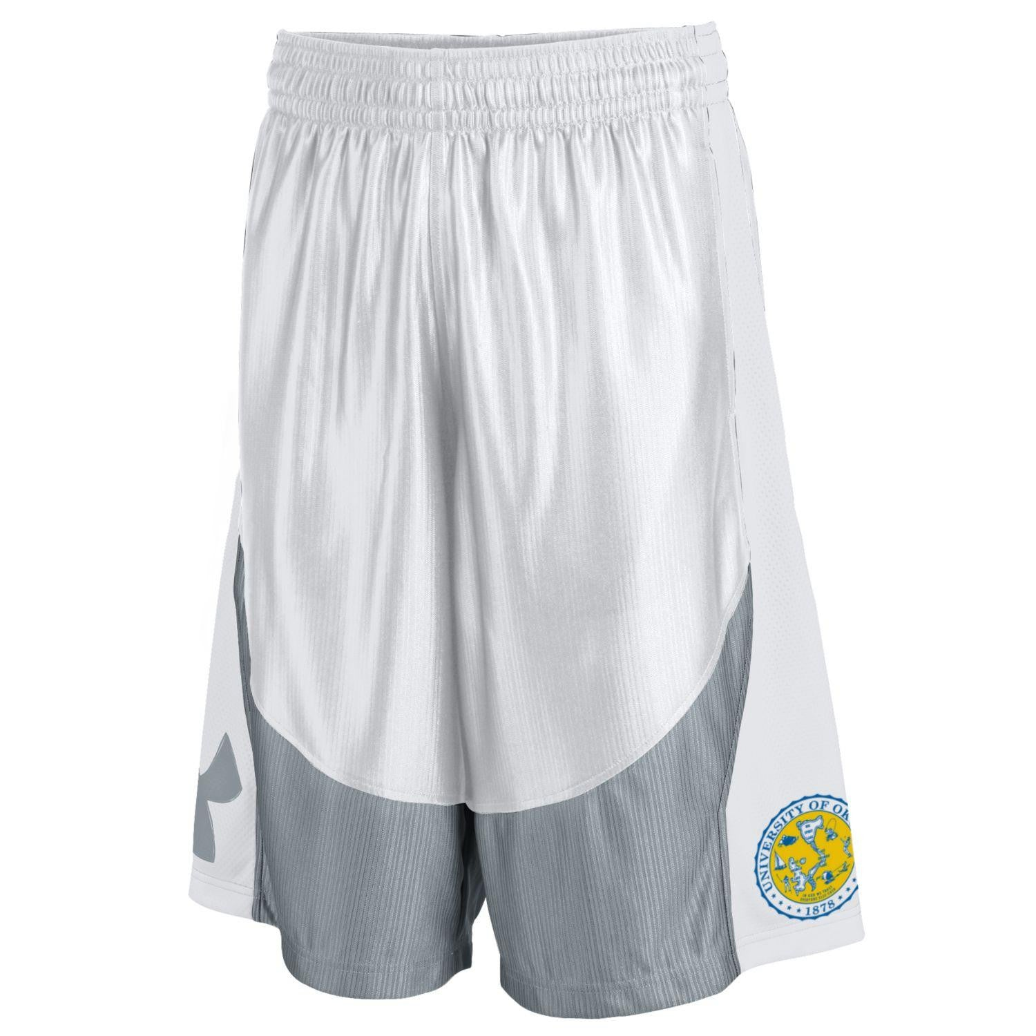 University of Okoboji Basketball Team Shorts - White