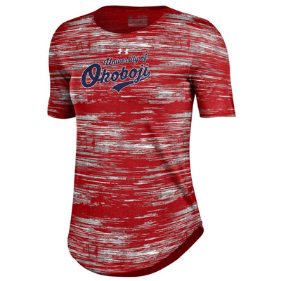 University of Okoboji Women's HeatGear® Print Tee