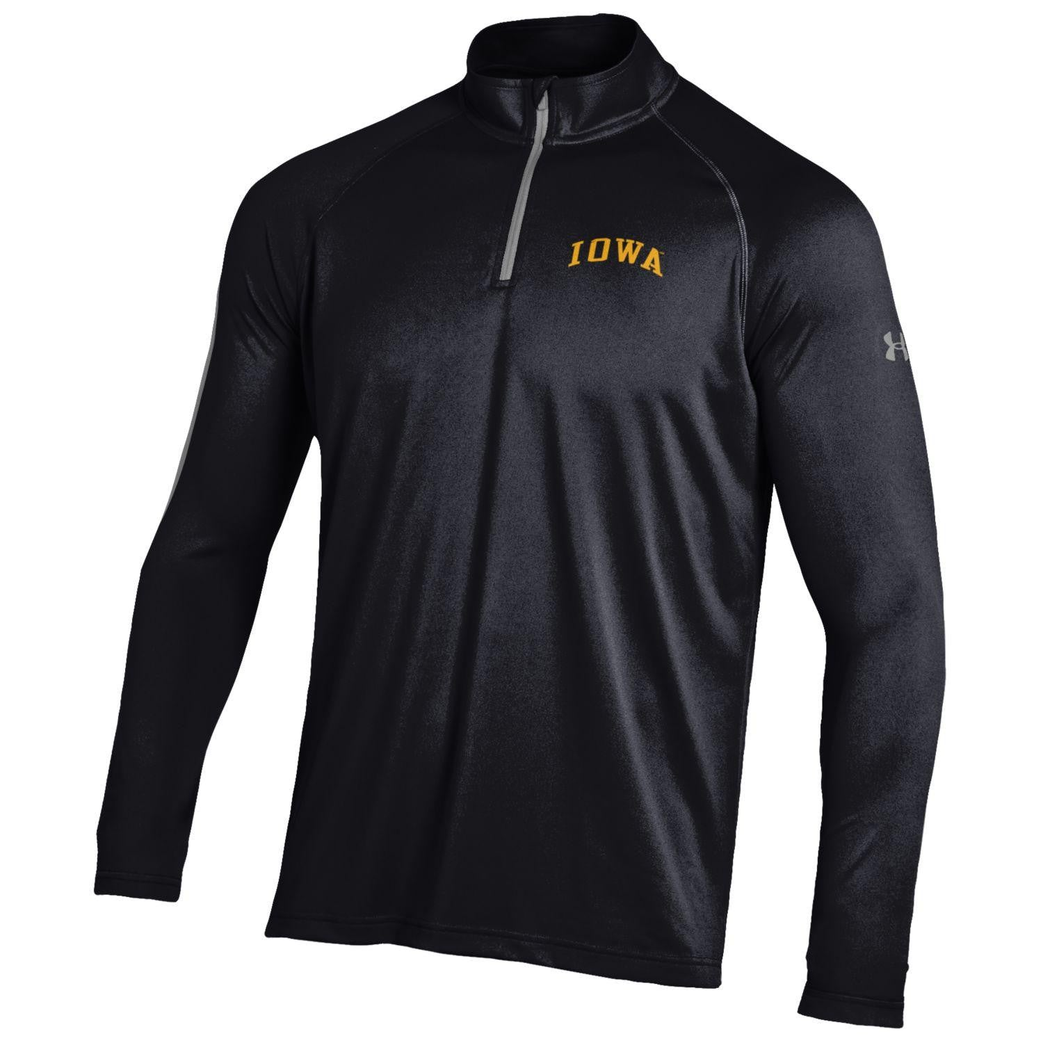 Iowa Tech 1/4 Zip - Black