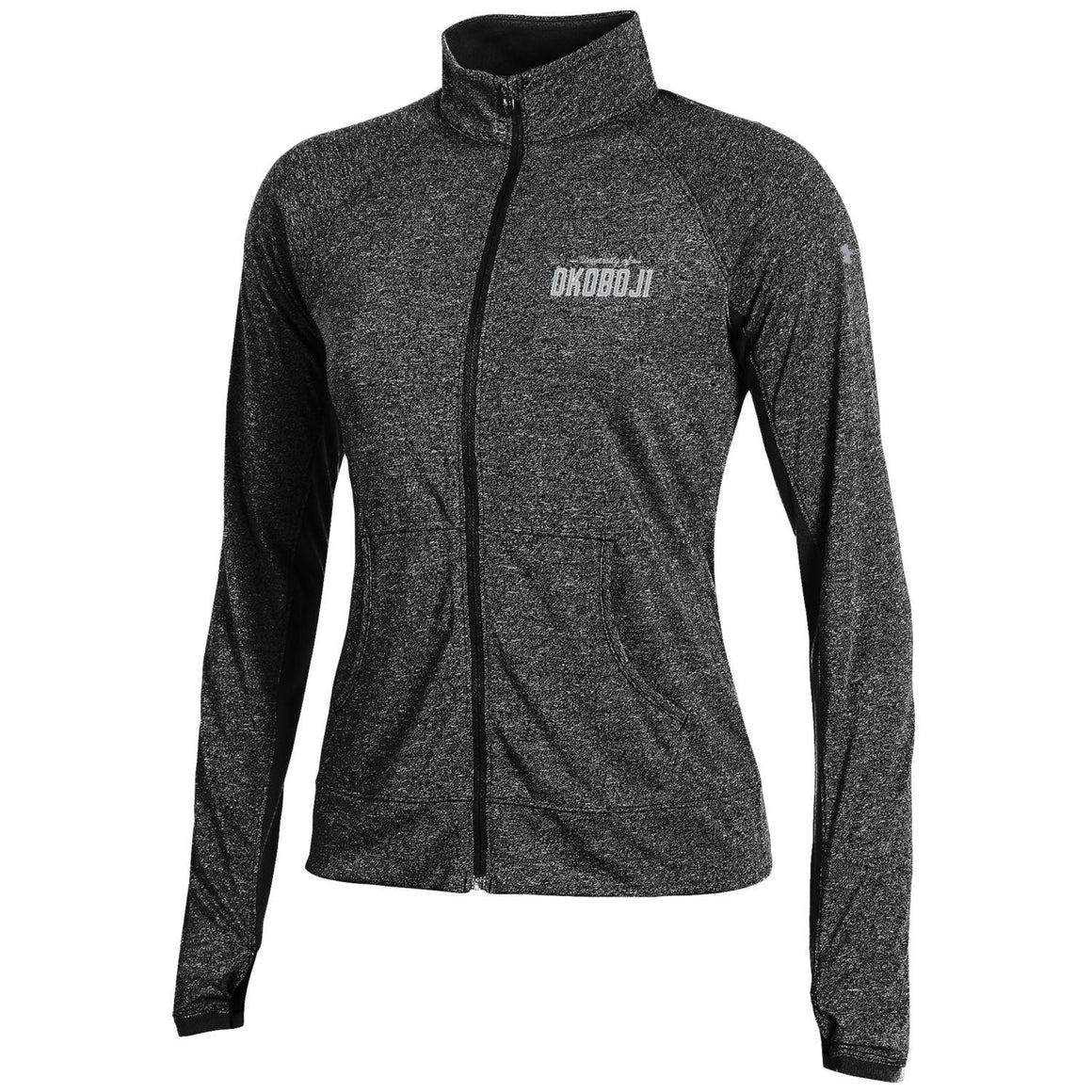 Ladies Ultimate Tech Limitless Under Armour Full Zip-Black