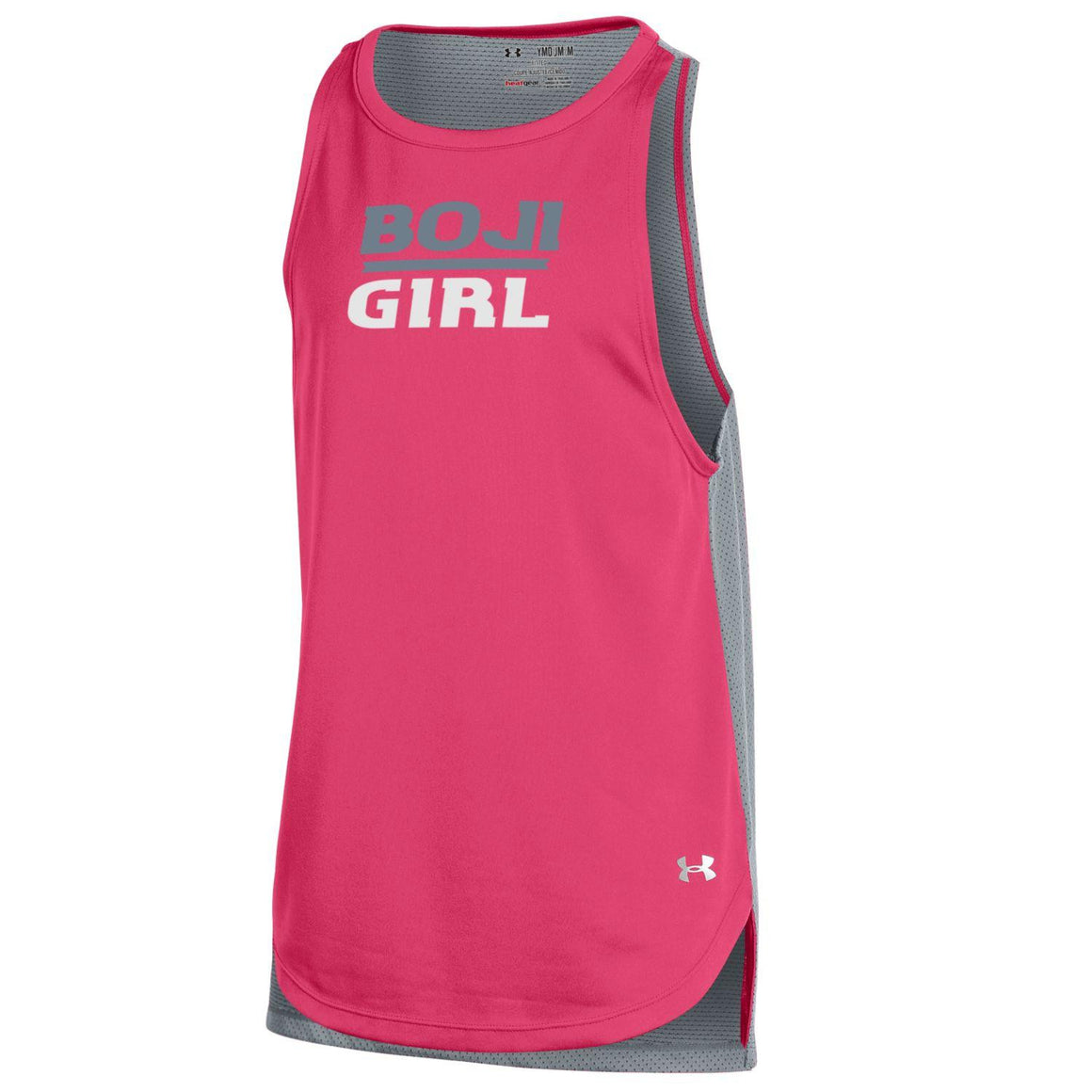 Under Armour BOJI GIRL Youth Tank-Hot Pink