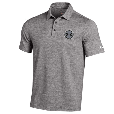 Under Armour Elevated Heather Polo - True Gray