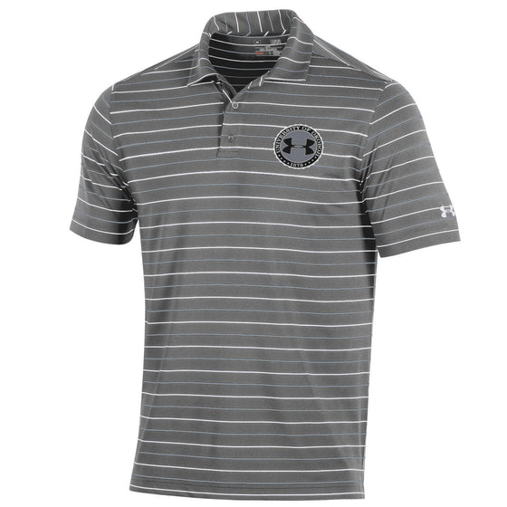 Under Armour Performance Stripe 2.0 Polo - Graphite