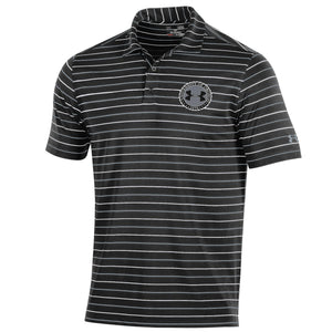 Under Armour Performance Stripe 2.0 Polo - Black