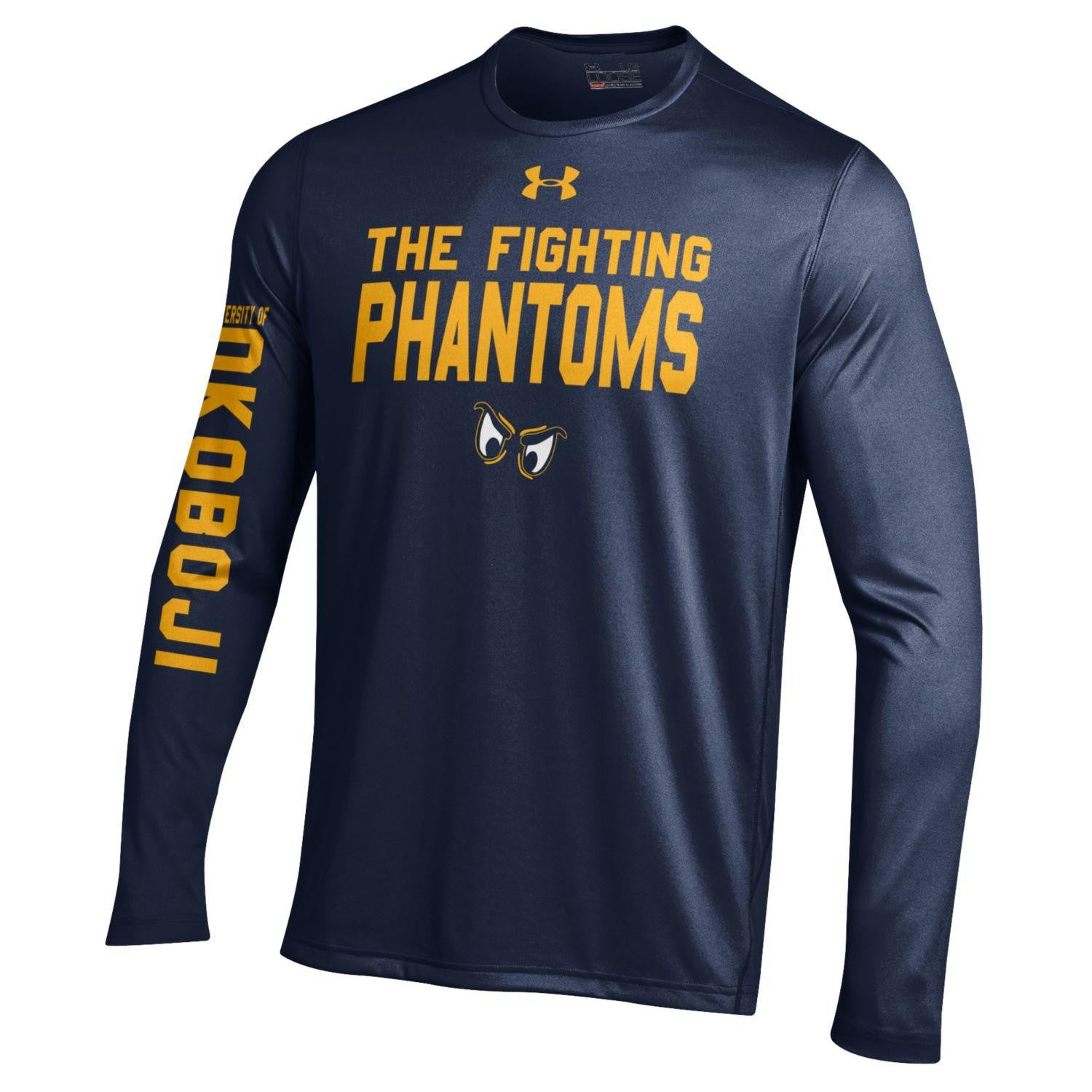 Phantom Team LS Tee - Navy