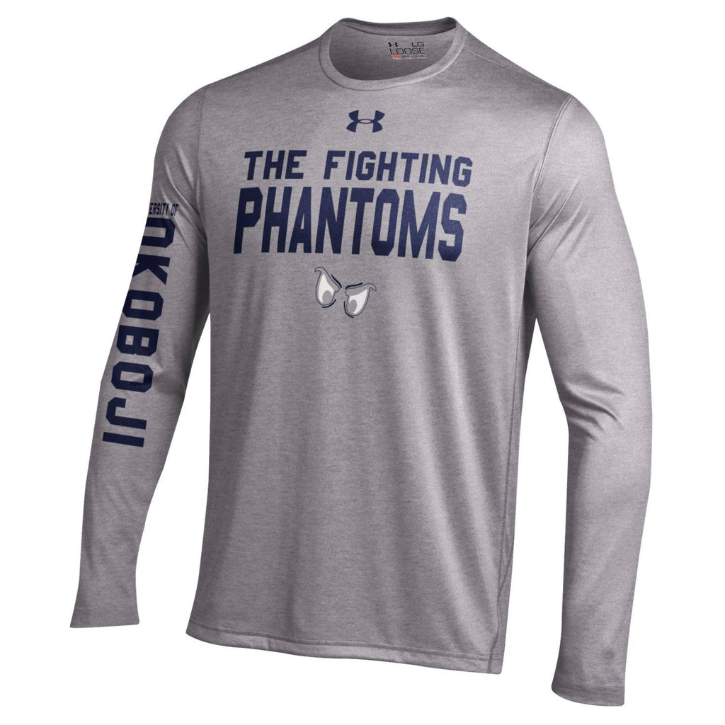 Phantom Team LS Tee - Grey