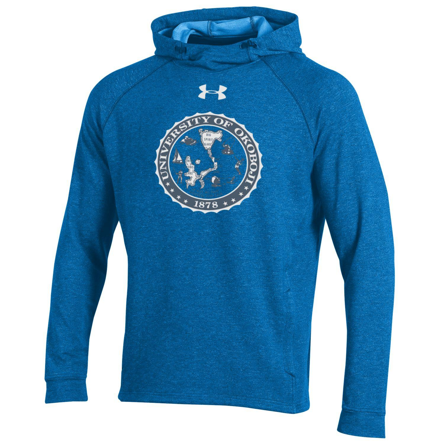 University of Okoboji Mock Neck Hoody - Royal Blue