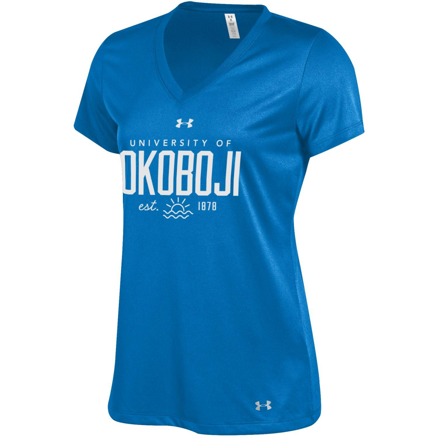 Womens Tech V Neck Under Armour Tee