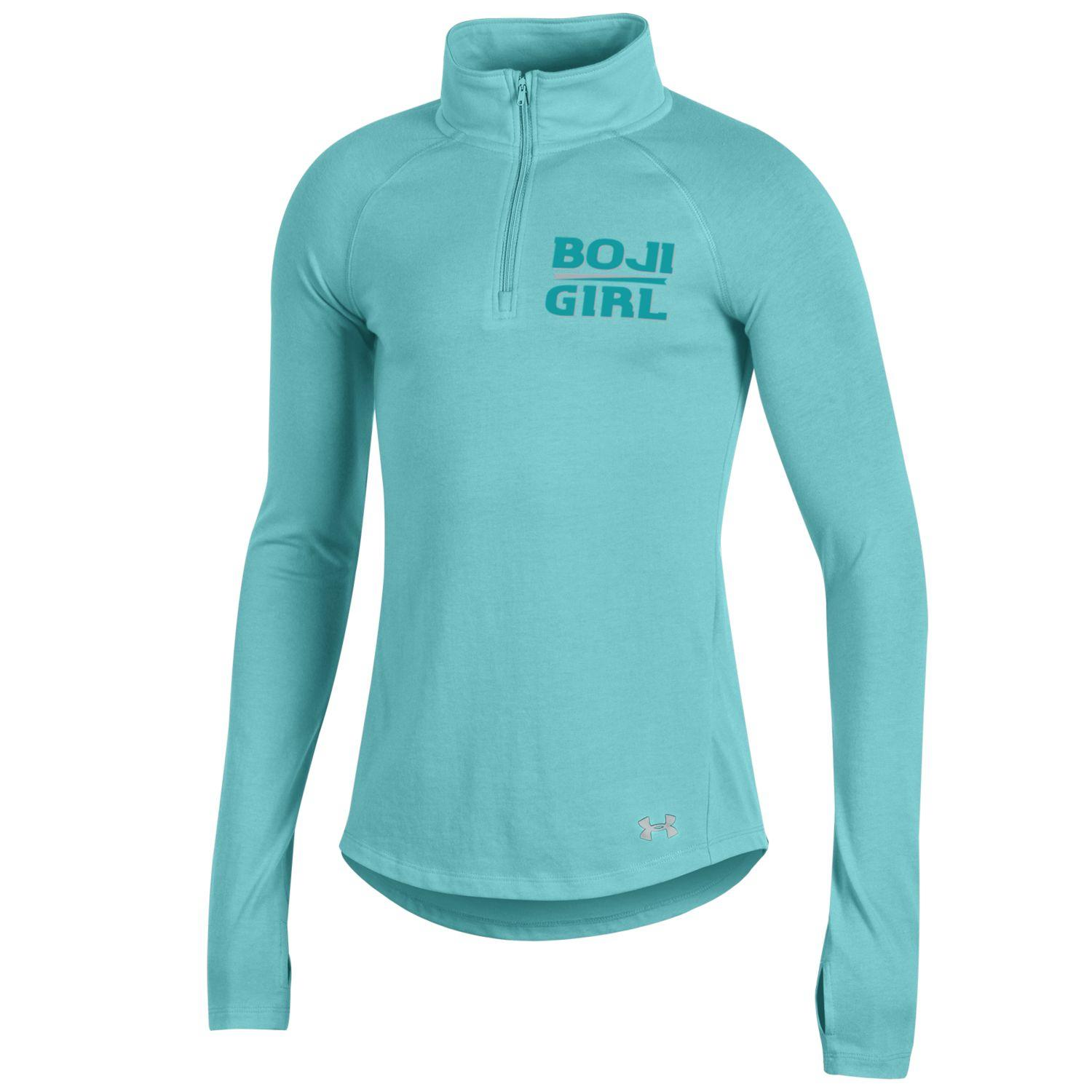 "Youth ""Boji Girl"" Under Armour 1/4 Zip - Aqua"