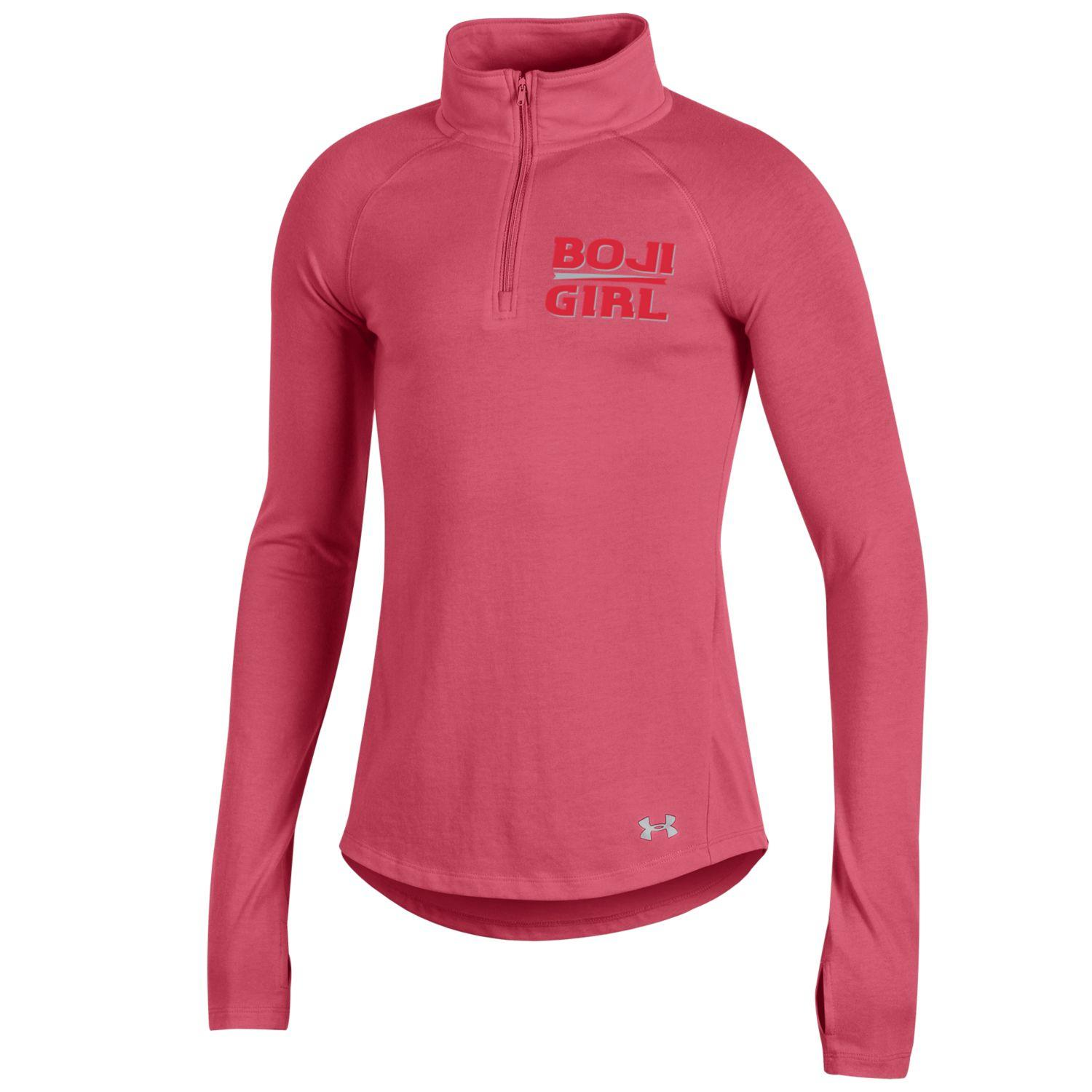 "Youth ""Boji Girl"" Under Armour 1/4 Zip - Brilliance Pink"