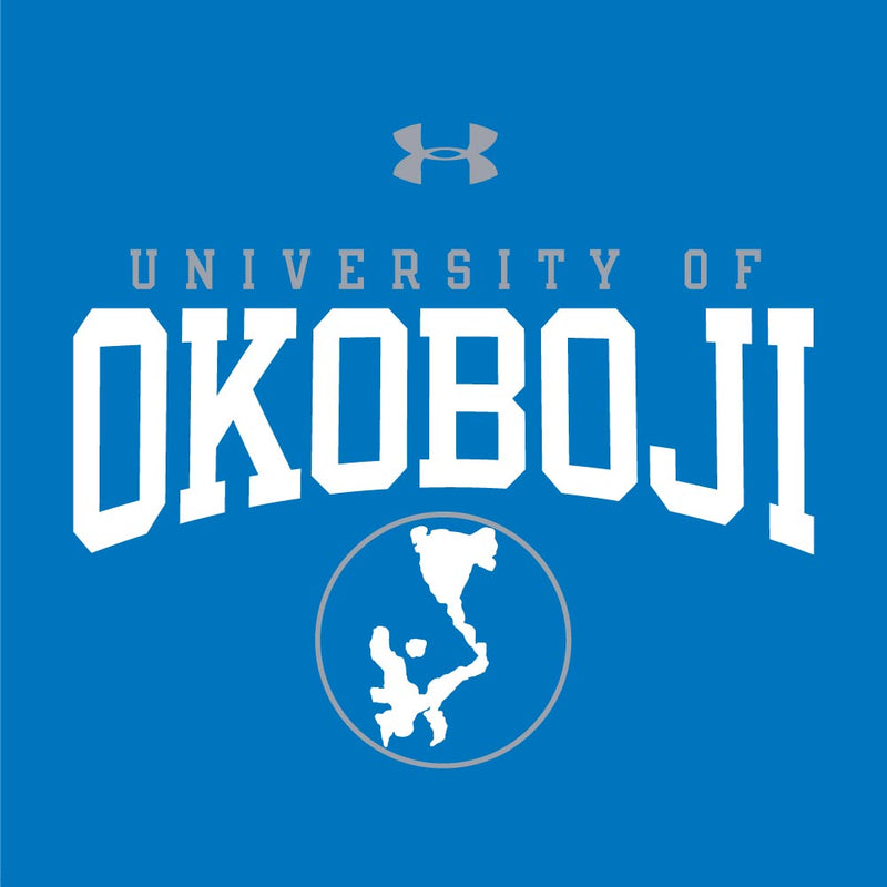 U of Okoboji Tech Short Sleeve Tee - Powder Keg Blue
