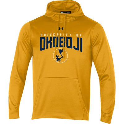 Okoboji Armour Fleece Hood - Steeltown Gold