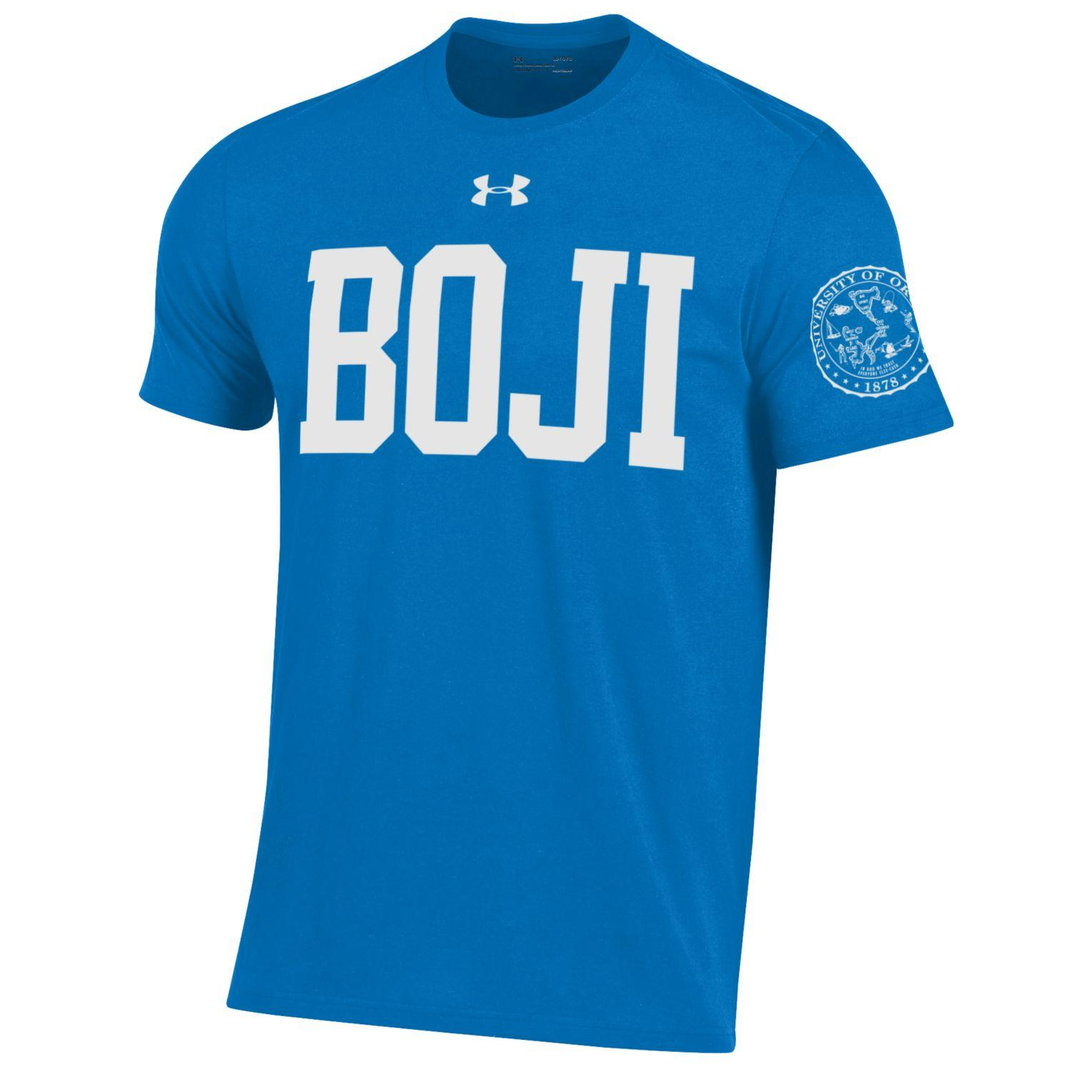 Performance Cotton Short Sleeve BOJI Tee - Powder Keg