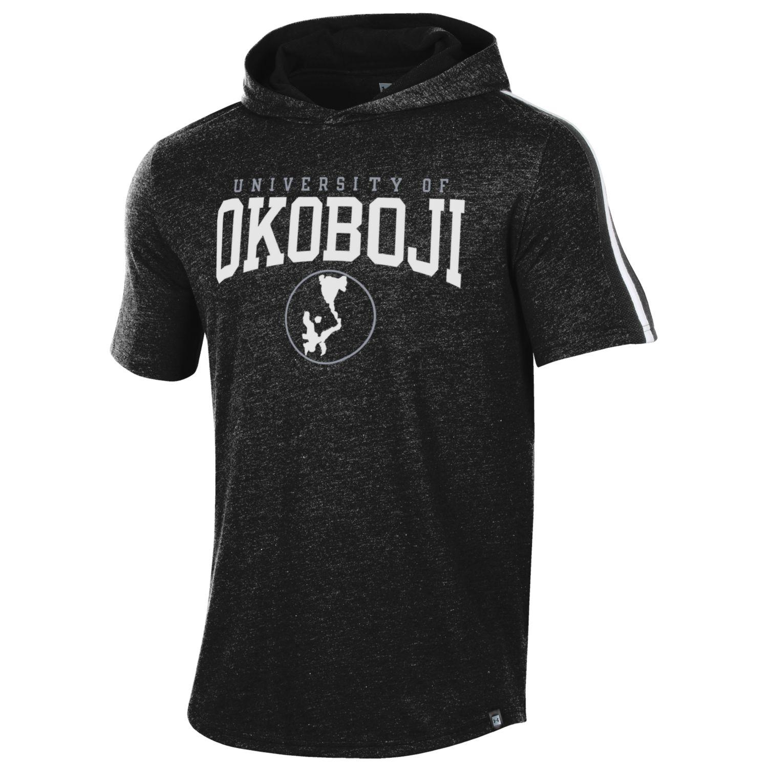 Short Sleeve Okoboji Training Camp Hood - Heathered Black