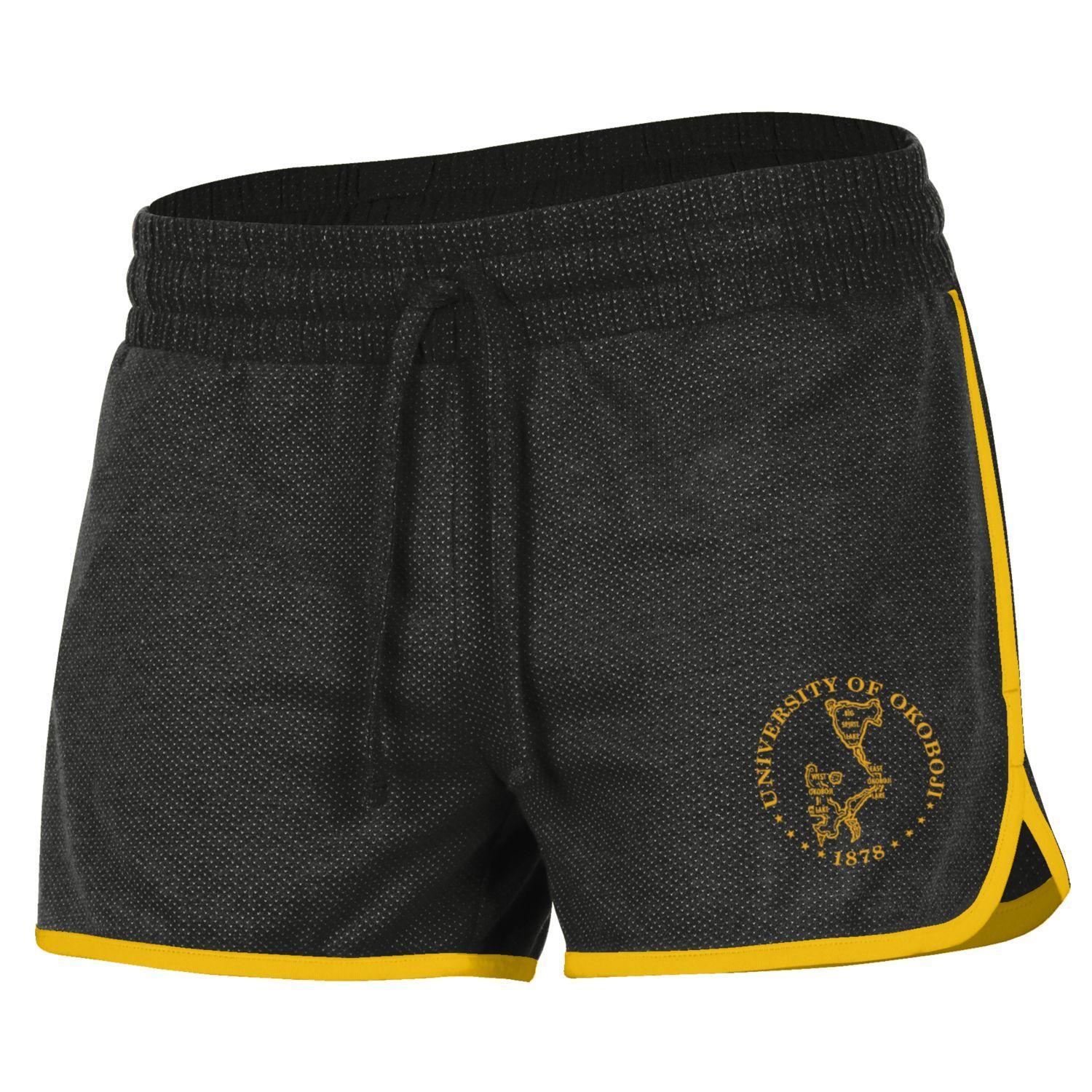 Women's Okoboji Training Camp Short - Black & Gold