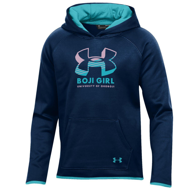 Boji Girl ArmourFleece Youth Hood - Midnight Navy