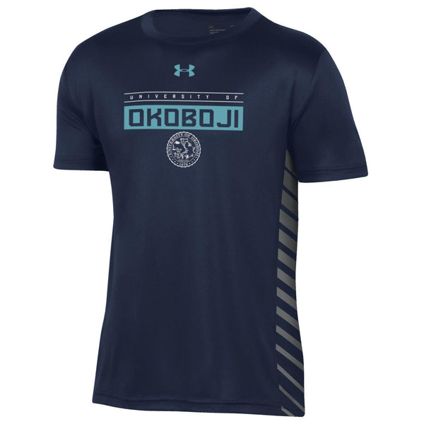 University of Okoboji Boys Novelty Tech Tee - Midnight Navy