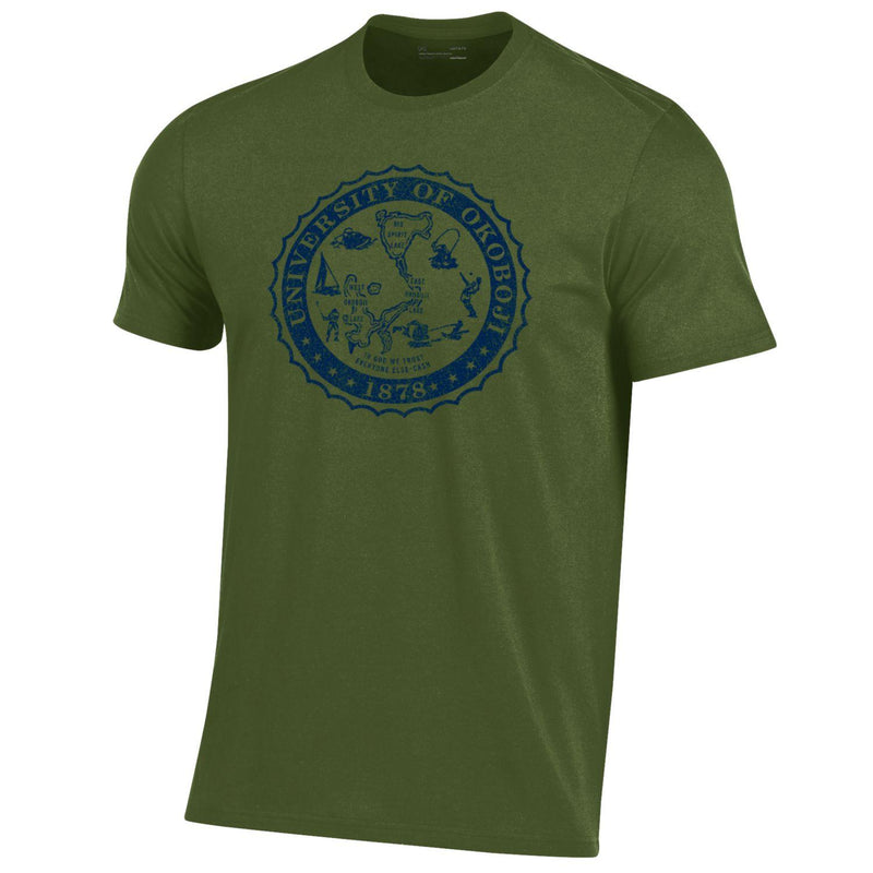 Okoboji Performance Cotton Short Sleeve Tee - Root Green