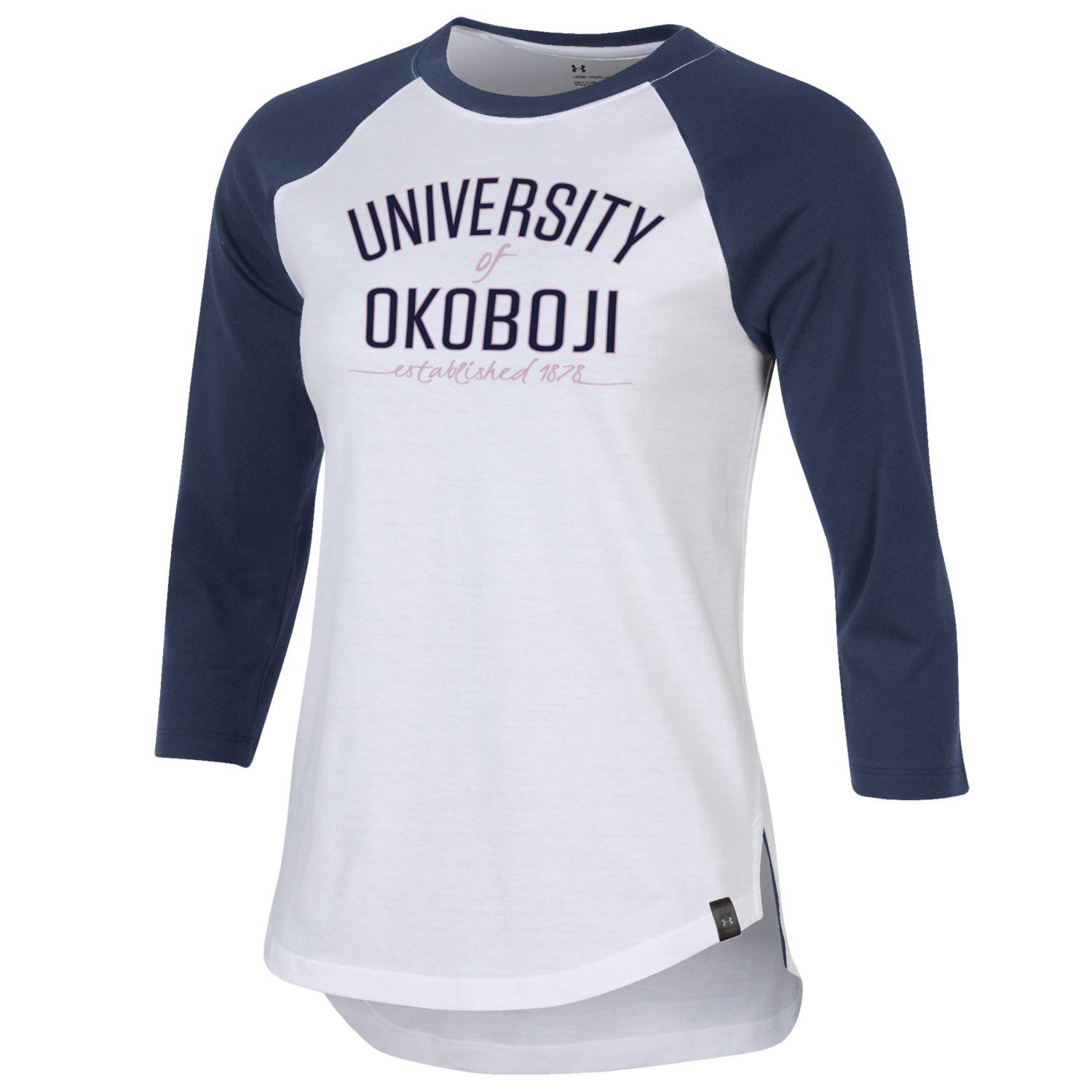 Ladies Okoboji Performance Cotton Baseball Tee