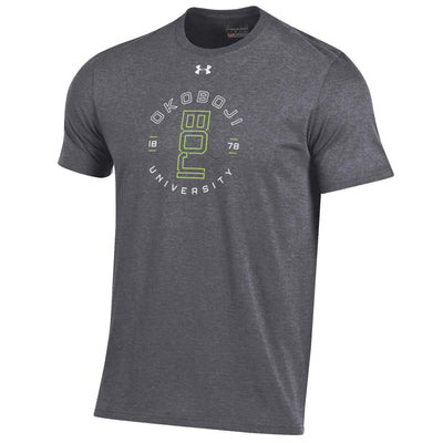 Boji Hyper Green Charged Cotton® Short Sleeve Tee - Carbon Heather