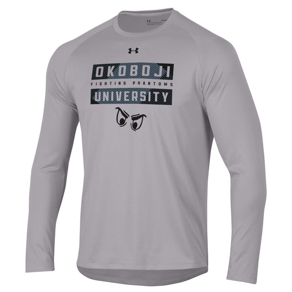 Okoboji Fighting Phantom Tech Long Sleeve Tee