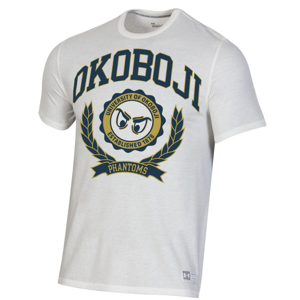 Phantom Fade Okoboji Short Sleeve Tee - Onyx White