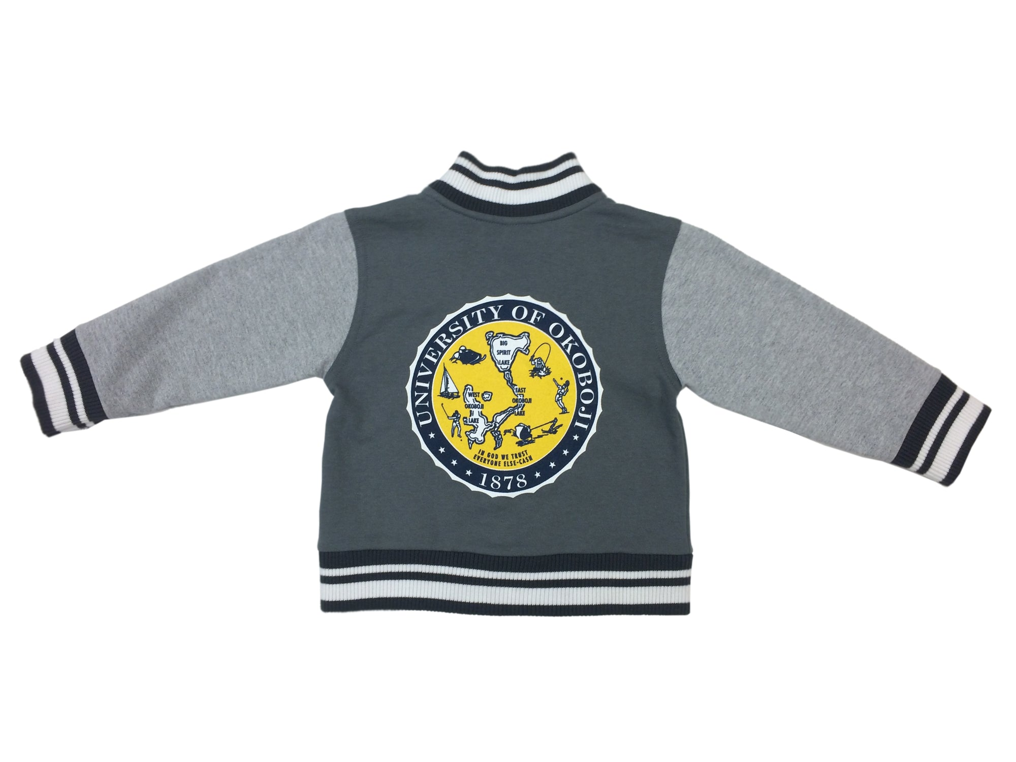Toddler U of O Letterman Jacket - Oxford