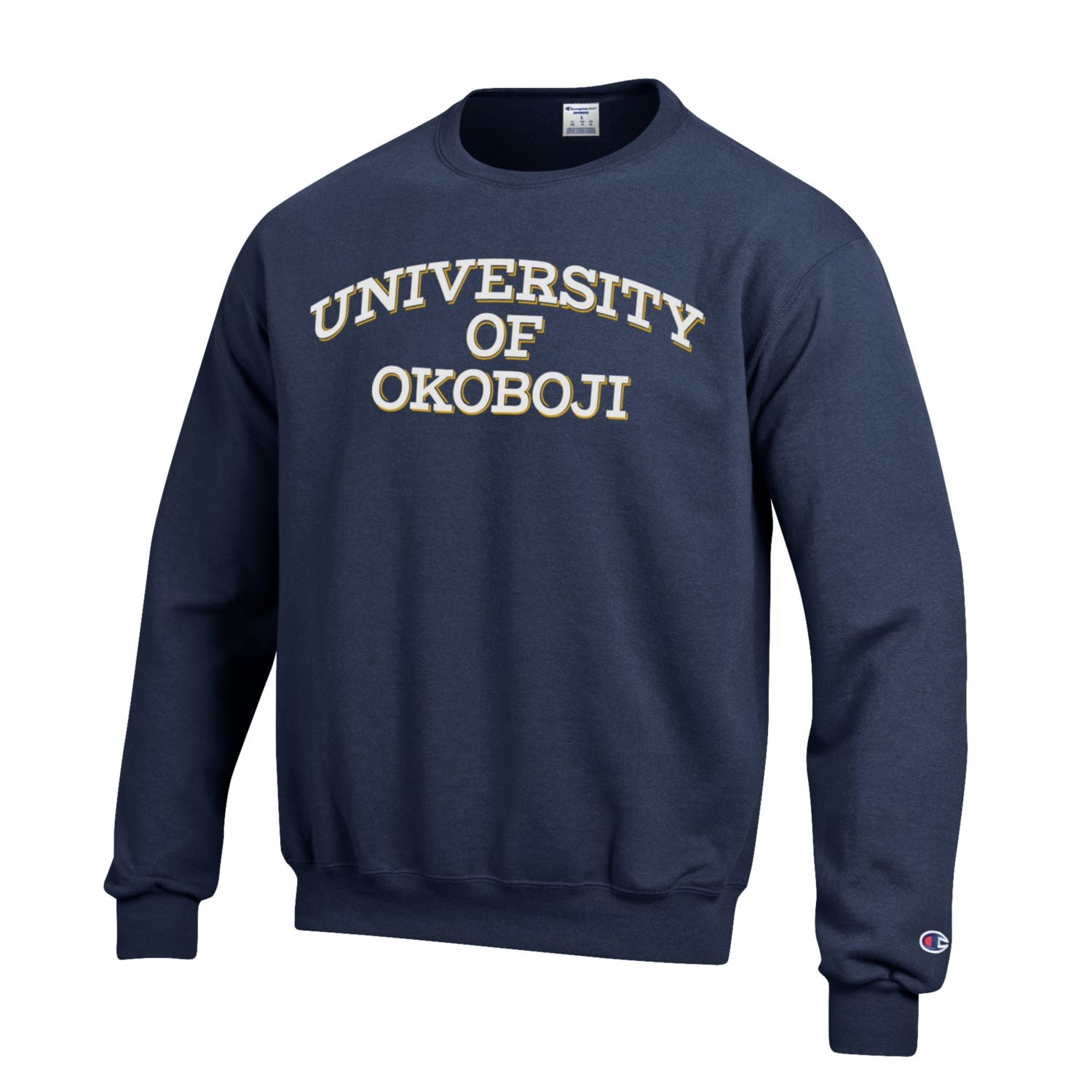Navy Embroidered U of O Champion ECO® Collection Sweatshirt