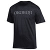 Black with Silver Campus Tee T-Shirt