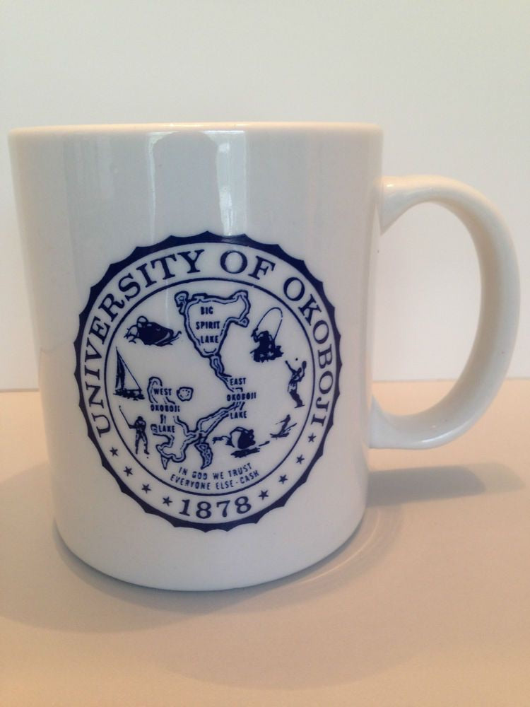 University of Okoboji Ceramic Coffee Mug