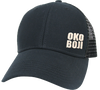 Black on Black OKOBOJI LO-PRO SNAPBACK