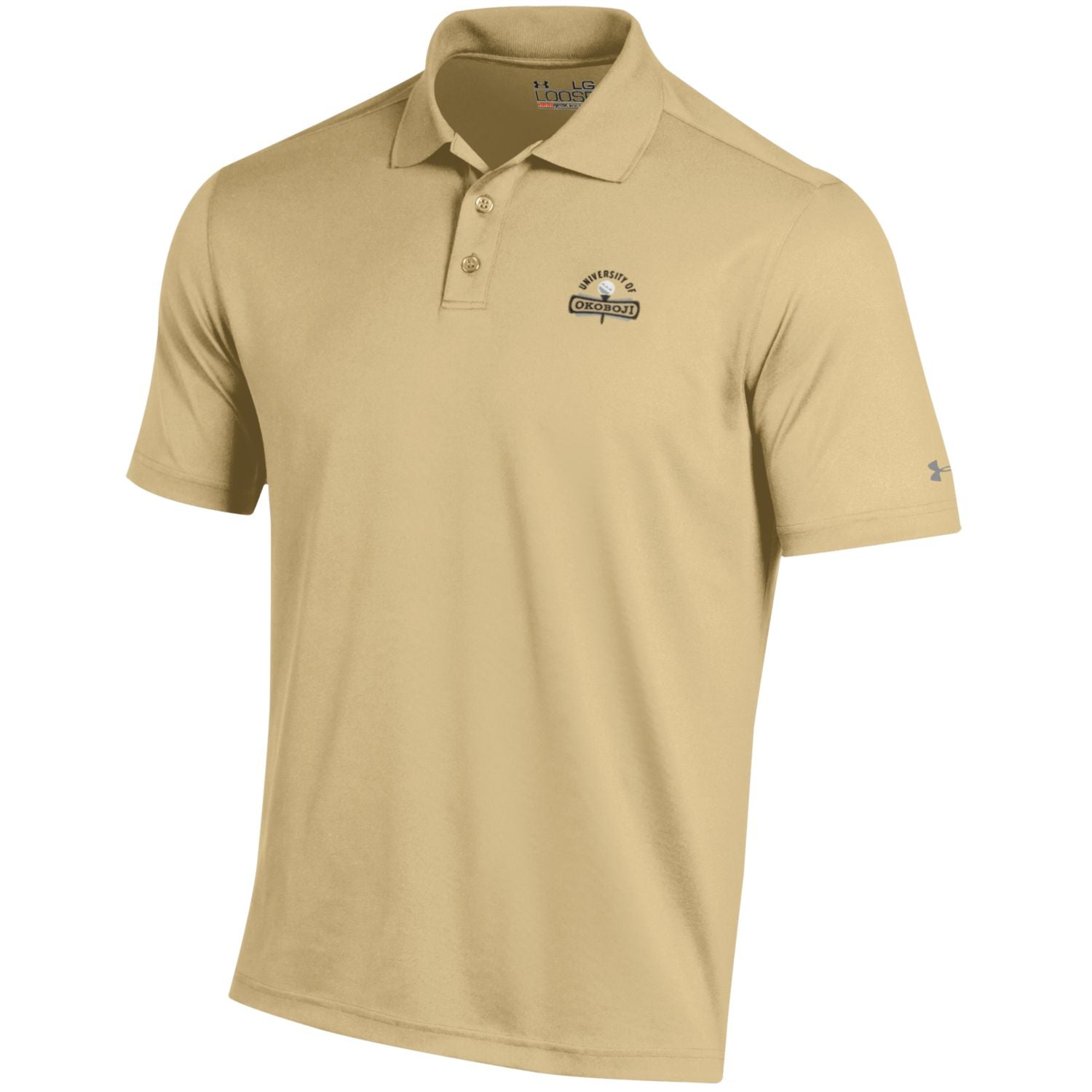 Under Armour HeatGear® Performance Polo - Vegas Gold