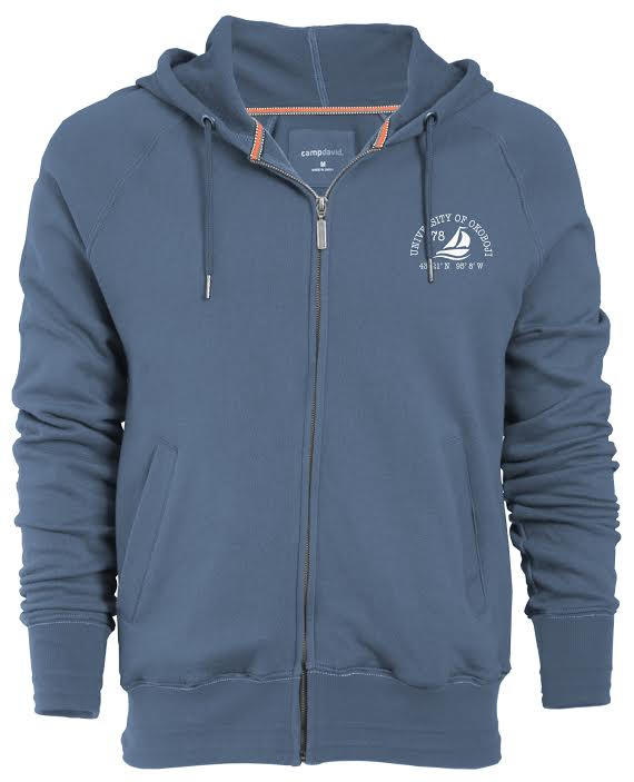 U of O Full-Zip Hood