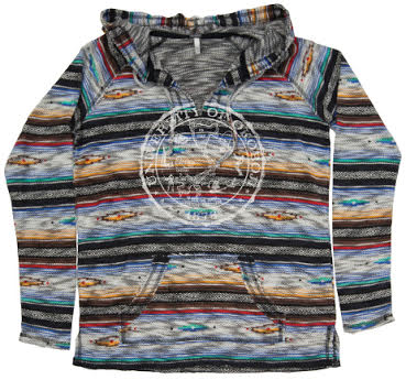 Fiesta Hood - Multi Colored
