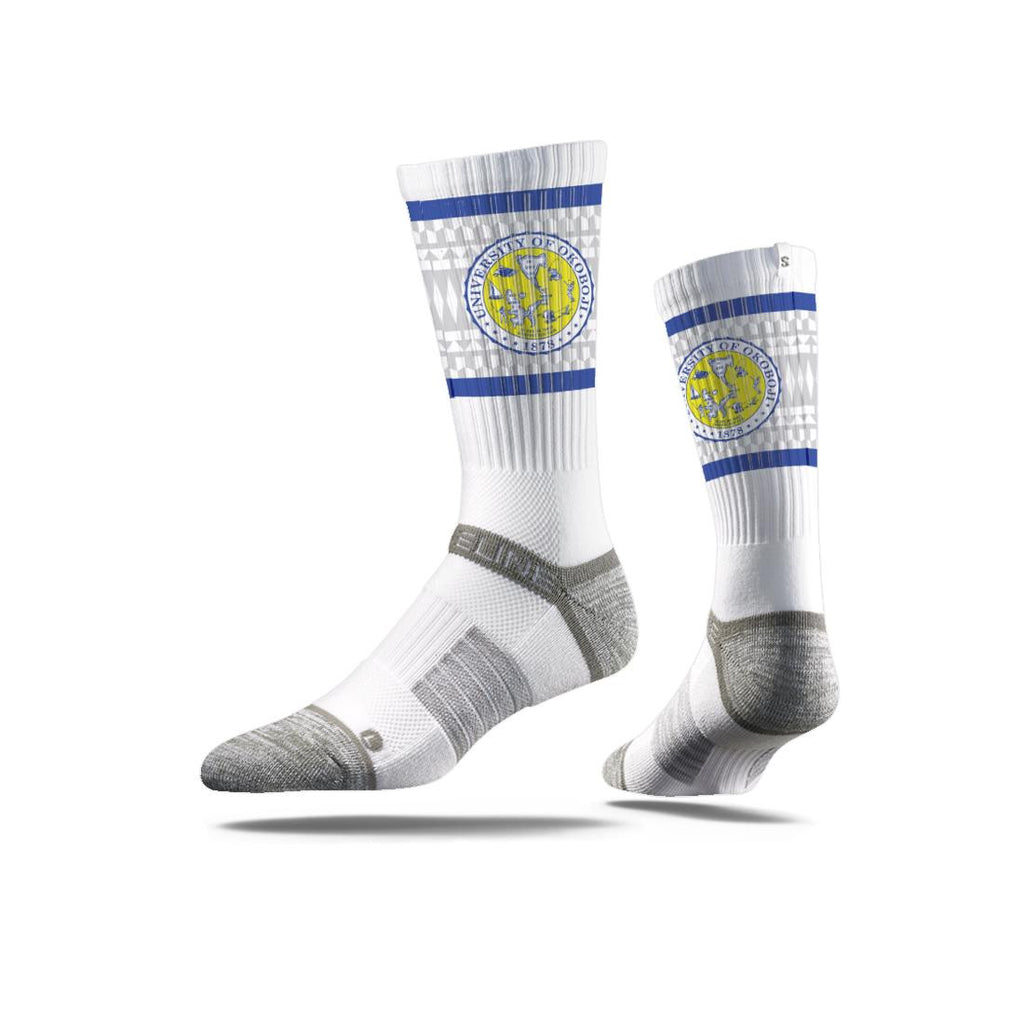 University of Okoboji Crest Socks