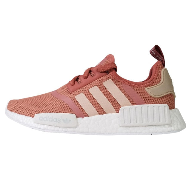 newest d64af 6fea5 Adidas Shamrock NMD Runner Women's Running Shoes Sports Outdoor Sneakers  Shoes,Pink, Breathable Lightweight S76006 EUR Size W