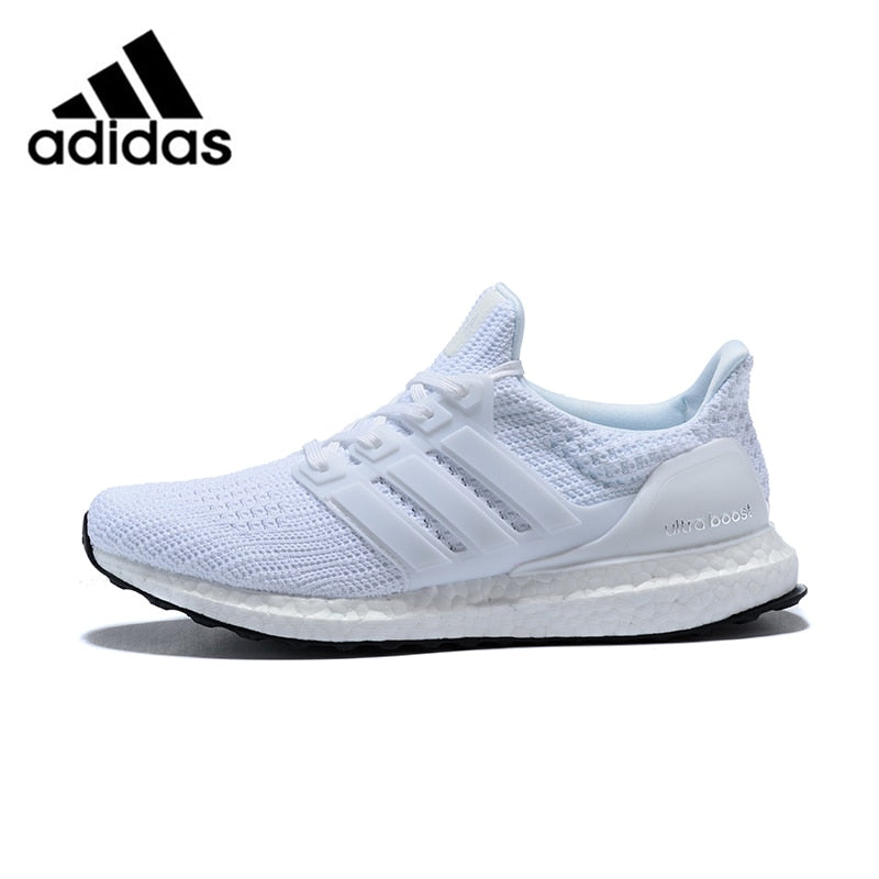 check out 231c6 7ddda Official original Adidas Ultra Boost 4.0 UB 4.0 Popcorn Running Shoes  Sneakers Sports for Men white Breathable BB6168 40-44