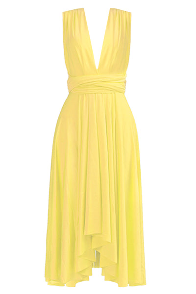 3145a3b5d17 Marilyn Monroe Inspired Dress In Yellow