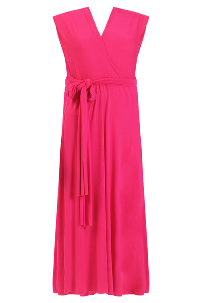 22faf84b552 Marilyn Monroe Inspired Dress In Magenta