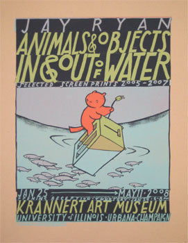 Animals & Objects In & Out of Water (#2, Krannert))